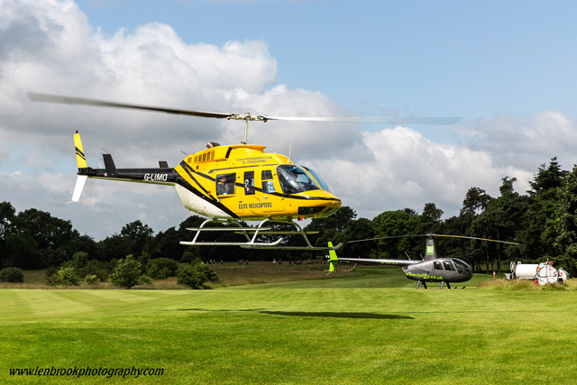Goodwood Festival of Speed & Elite Helecopters