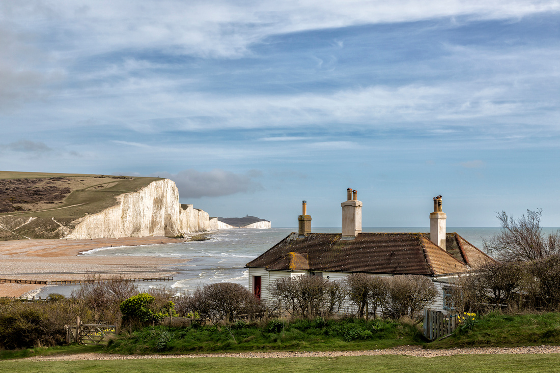 The Seven Sisters and the Coastguard Cottages