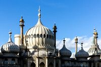 Brighton Royal Pavillion Rooftops