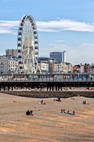 Brighton Beach and The Brighton Wheel
