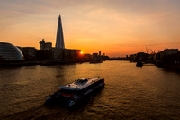 Sunset Cruise on the River Thames